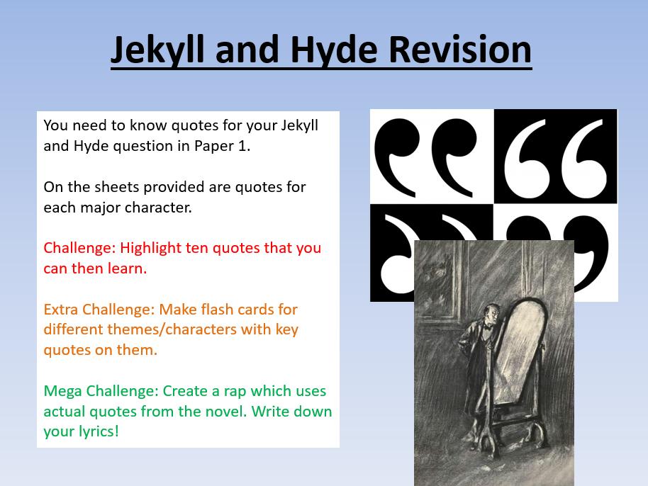 GCSE English Literature Revision