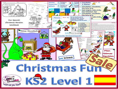 Primary Spanish FUN CHRISTMAS PACK (New Revised 2nd Edition)