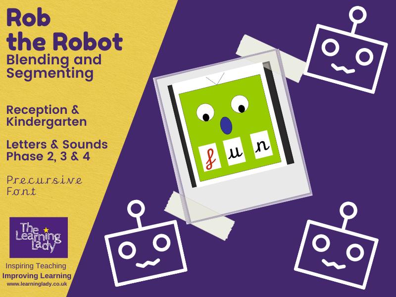 Rob the Robot Blending Slides