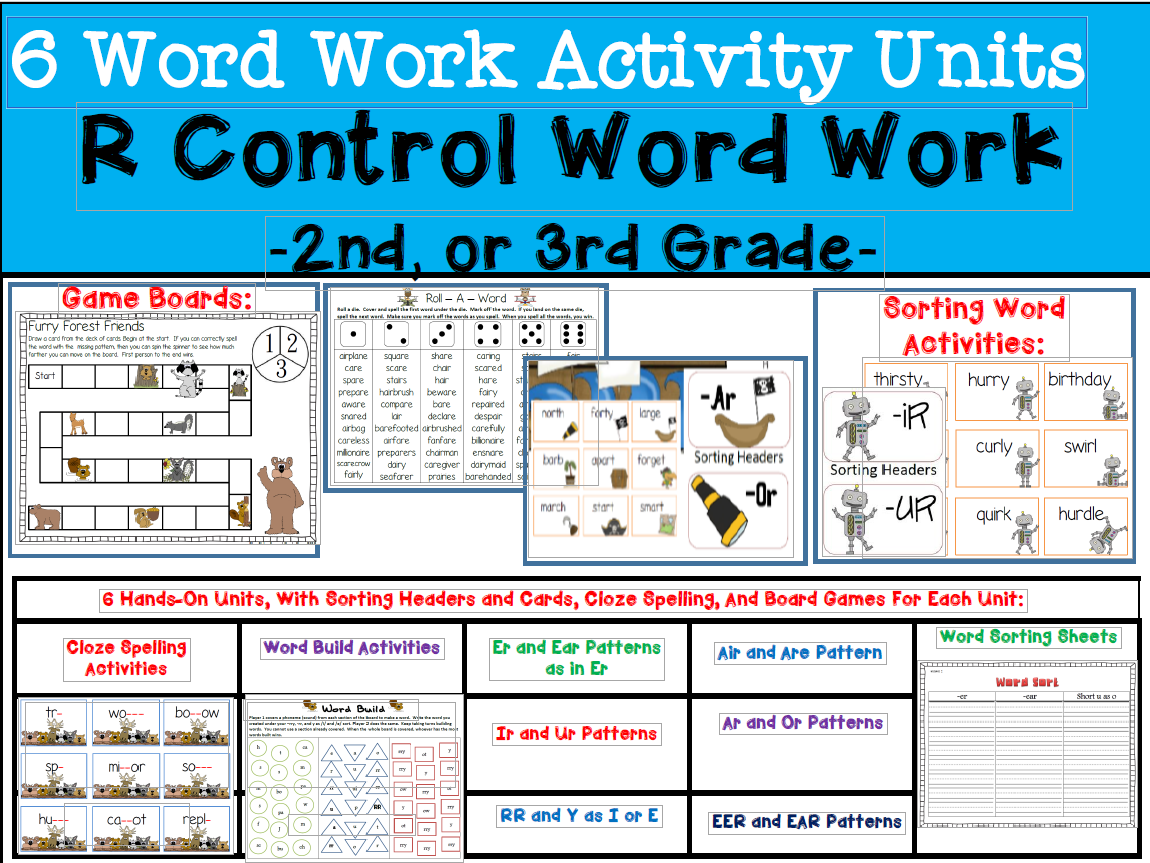 R Controlled Word Bundle