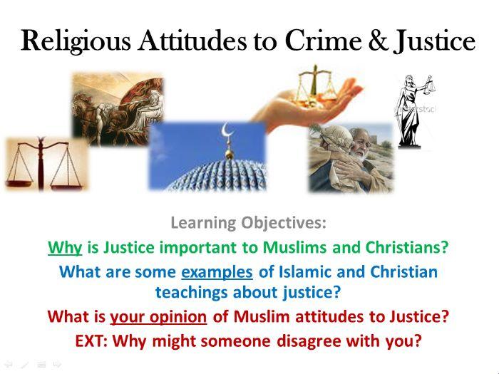 dbq muslim and christan attitiudes towards