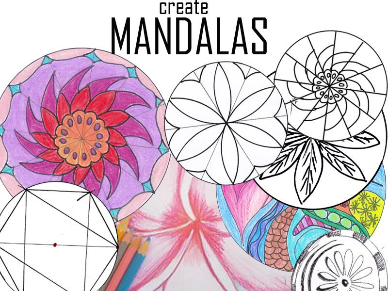 Mandalas : circle  patterns, coloring