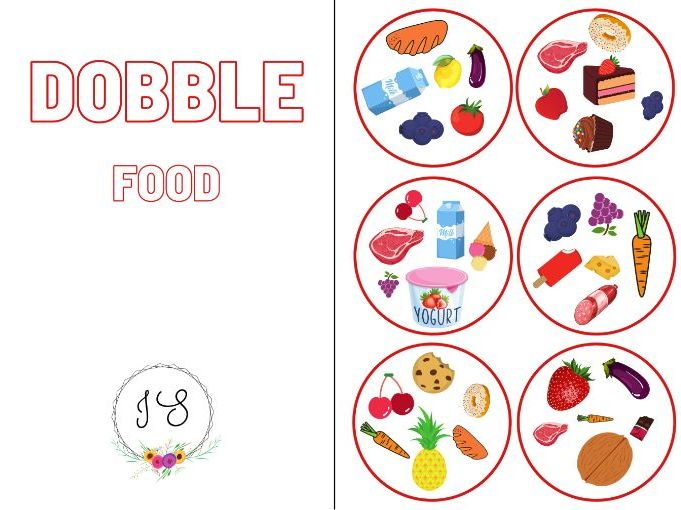 Dobble - Food (card game)