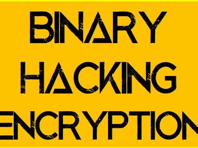 [Computer Science] Binary, Hacking and Encryption
