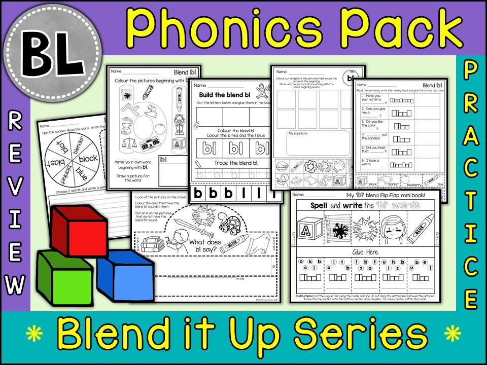 Phonics: Phonics Blend BL