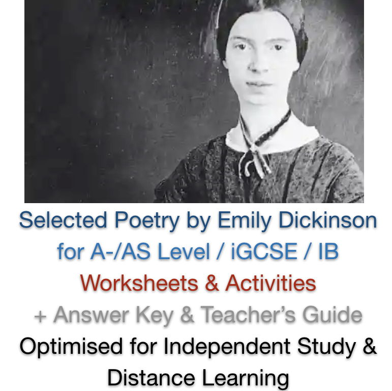 Selected Poetry (Emily Dickinson) ADVANCED NO PREP BUNDLE + ANSWERS