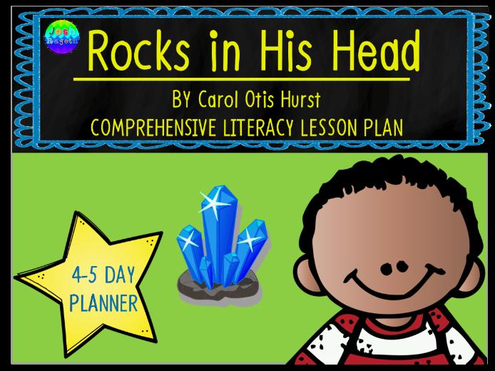 Rocks in His Head by Carol Otis Hurst 4-5 Day Lesson Planner