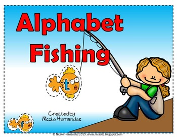 Matching Uppercase and Lowercase Letters (Fishing for Letters)
