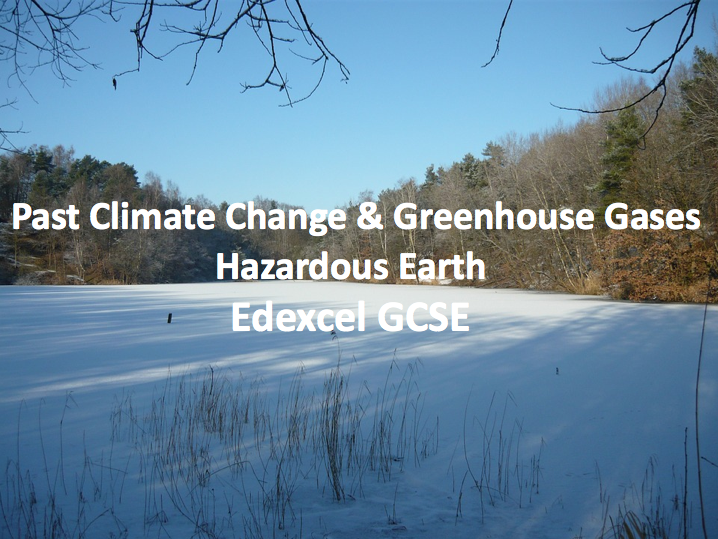 Past Climate & Greenhouse Gases