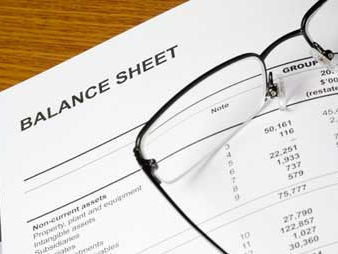 Balance sheets- Crossword and answers