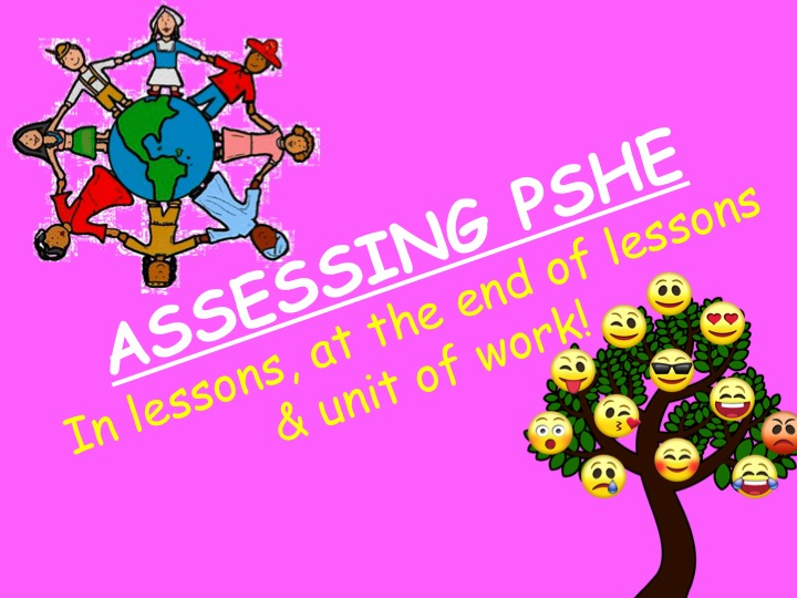 Assessing PSHE