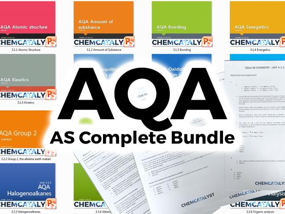 AQA AS Chemistry Complete Bundle