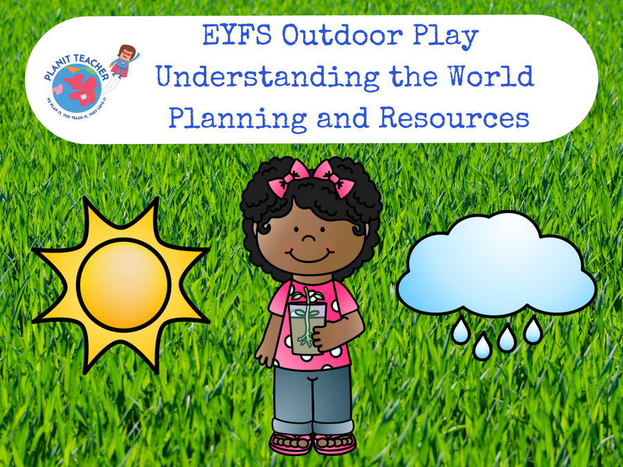 Outdoor Area Planning and Resources - EYFS Understanding the World