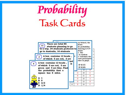 Probability-KS3 & KS4