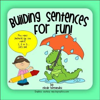 Sentences - Building Sentences for Fun