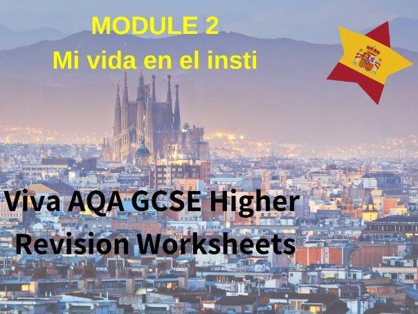 Spanish Viva GCSE (H) Module 2 Revision