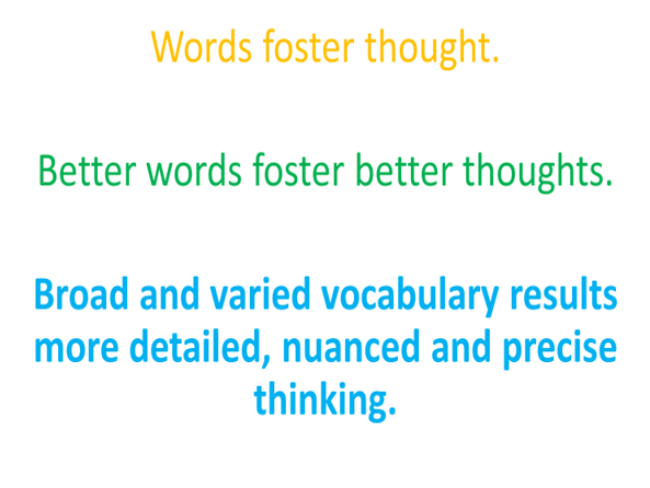 School Vocabulary Strategy CPD session