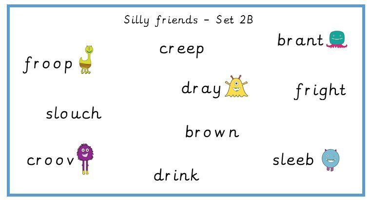 'Silly Friends' Reception Scheme Bundle