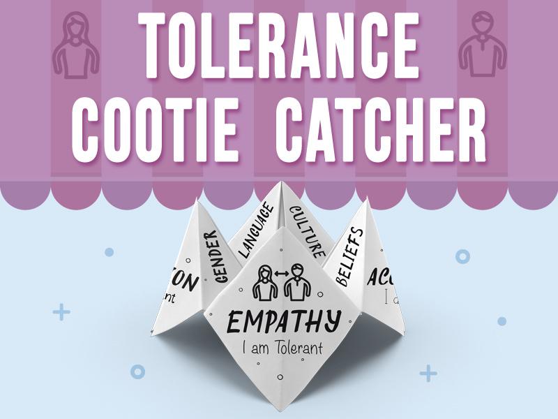 Tolerance Cootie Catcher