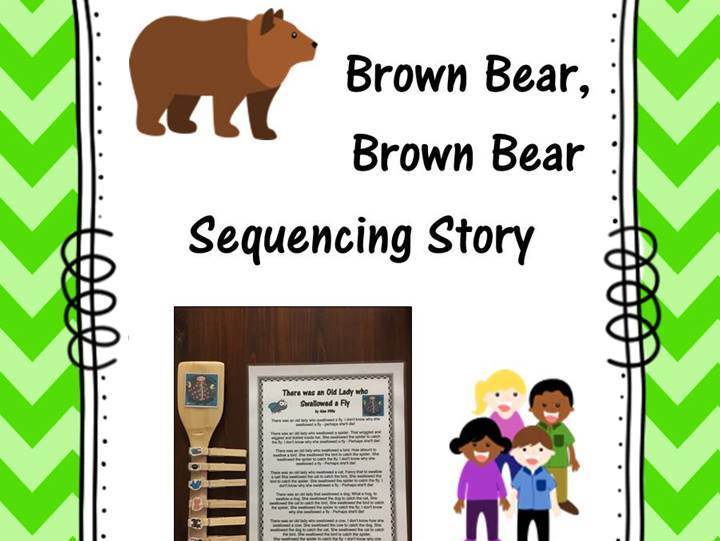 Brown Bear Sequencing Story