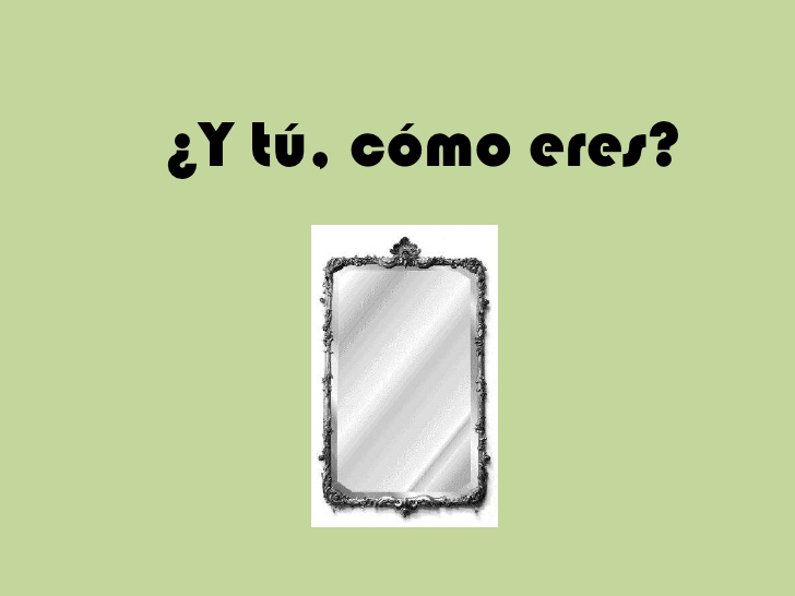 SPANISH YEAR 8 - ¿CÓMO ERES? / HOW ARE YOU? VOCABULARY, ADJECTIVES AND SPEAKING ACTIVITIES
