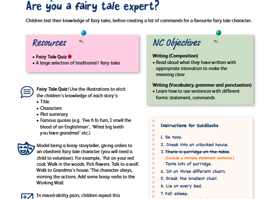 Fairy Tale Experts