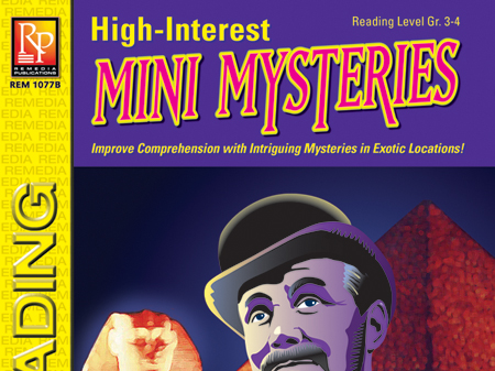 Mystery Unit: High-Interest Mysteries for Reading Level 3