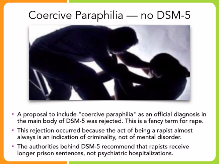 Paraphilia - Sex Crimes vs. Sexual Disorders - Legal Medical - 79 Slides