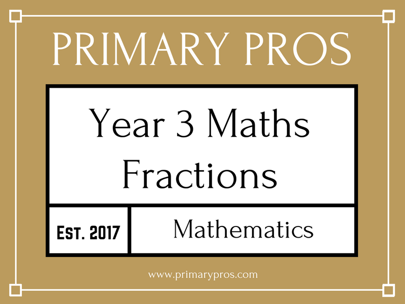 Year 3 Maths - Fractions