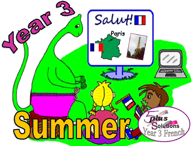 Primary French WHOLE TERM: Year 3 Summer