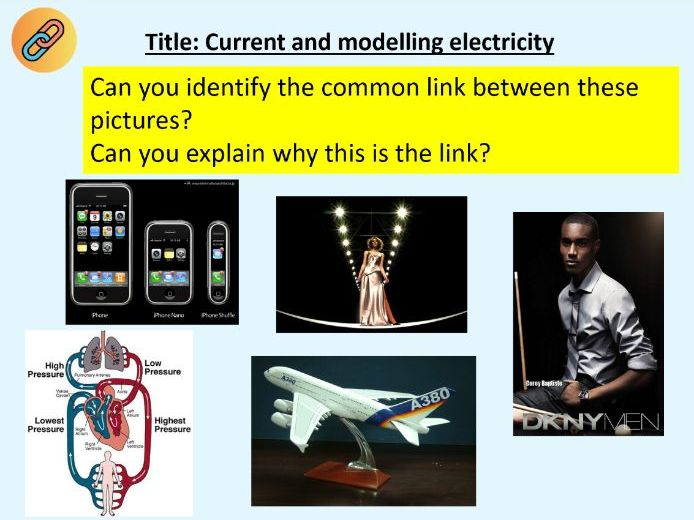 KS3 Current and modelling current (Electricity) - Home learning