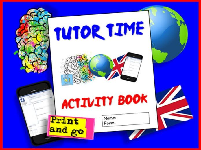 Tutor Time Activities Booklet