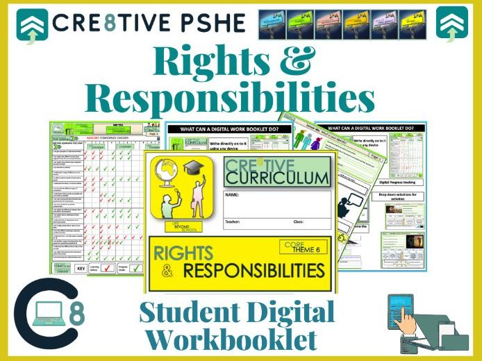 Rights and Responsibilities PSHE Digital booklet