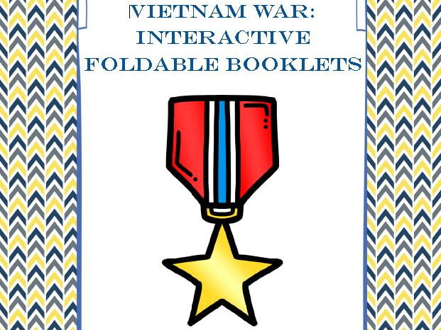 Vietnam War Interactive Foldable Booklets