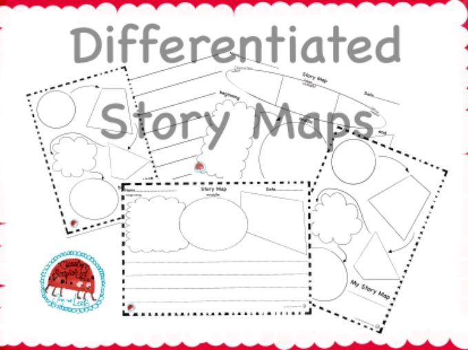 Story boards and maps for KS1