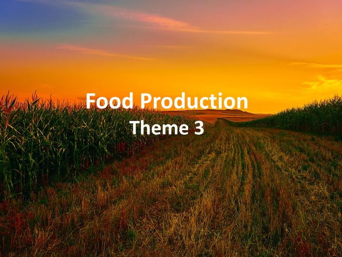 IGCSE Economic Development - Food Production