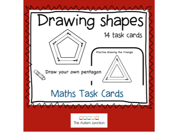 Drawing Shapes. Task Cards