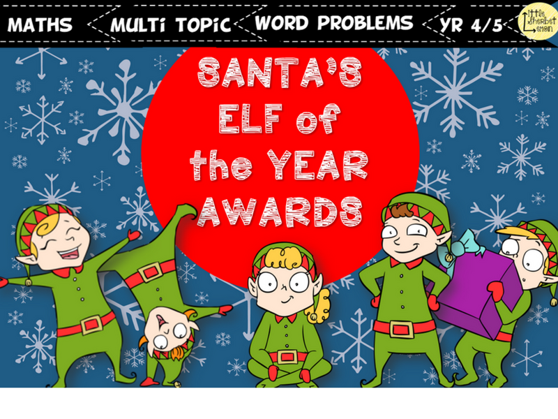 Elf of the Year Award - Maths Word problems
