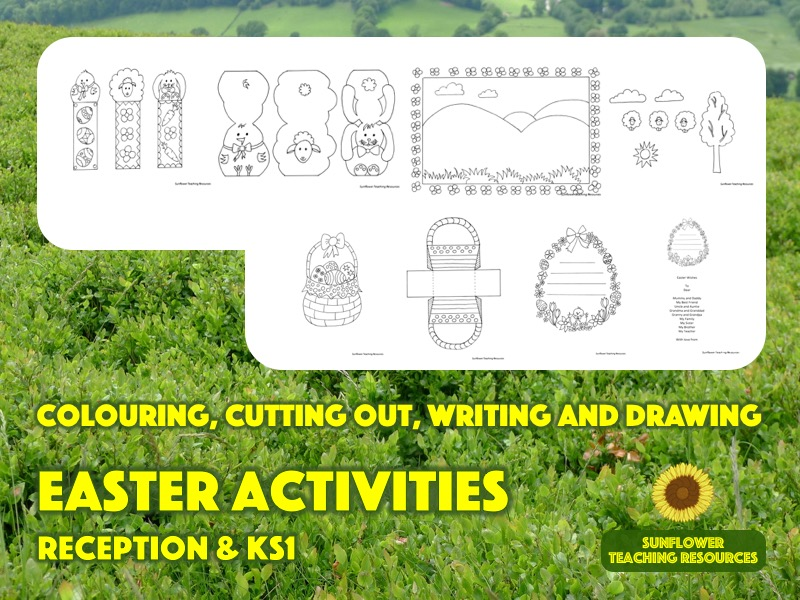 Easter activities for Reception and KS1