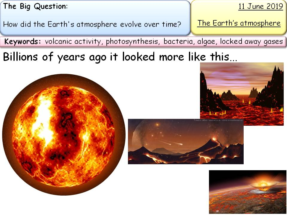 New AQA Chemistry Topic 9: Earth Atmosphere