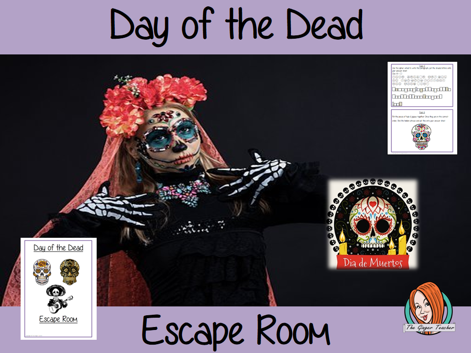 Day of the Dead Escape Room Game