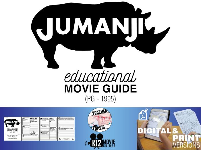Jumanji Movie Viewing Guide