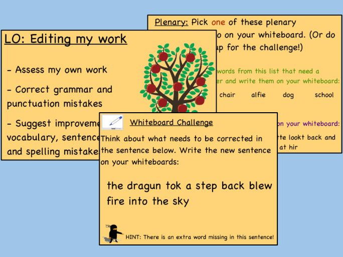 Introduction to Editing KS2