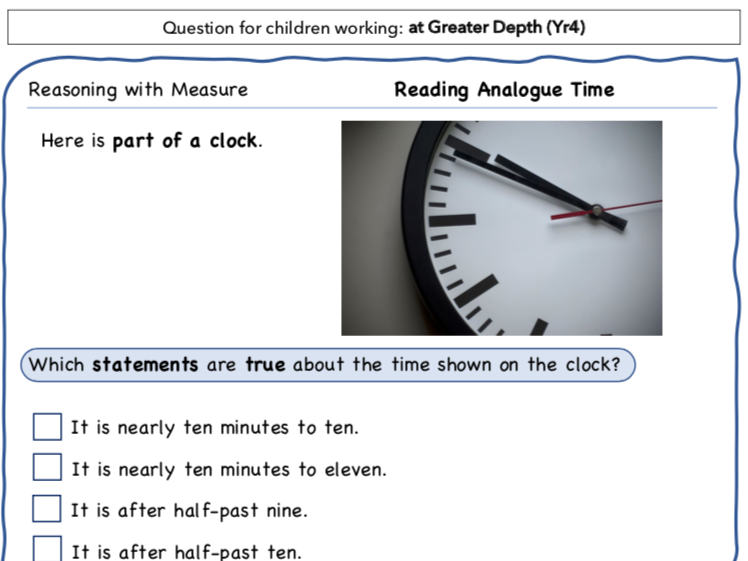 Year 4 Maths: Reasoning with Time