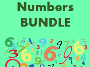 Numéros (Numbers in French) Bundle