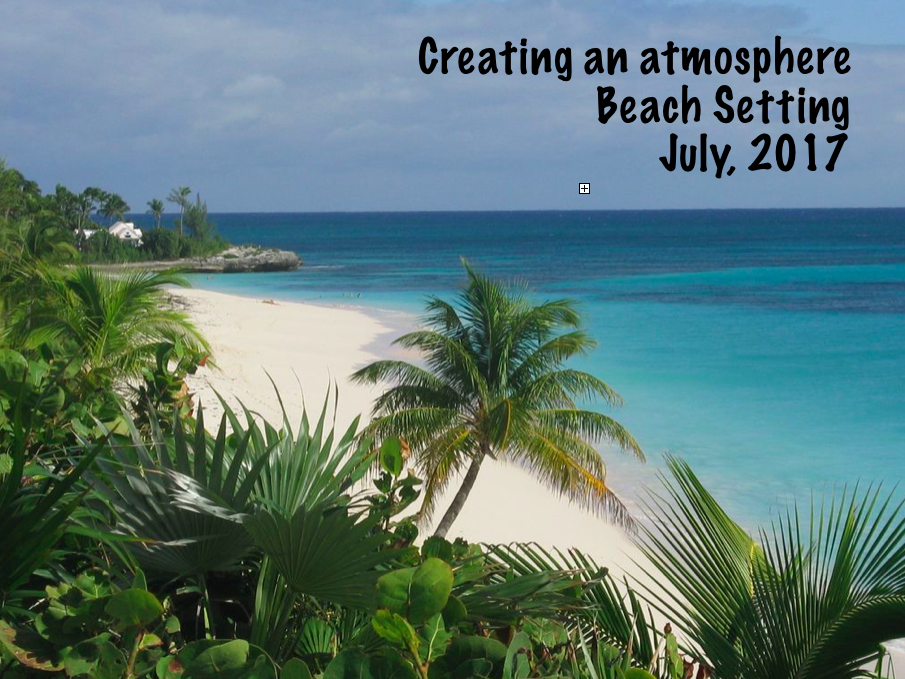 Planning a beach setting - Creating an atmosphere - A lesson observation KS2 - July 2017