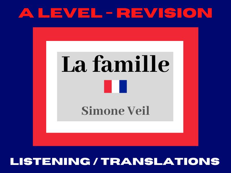 French A Level Simone Veil
