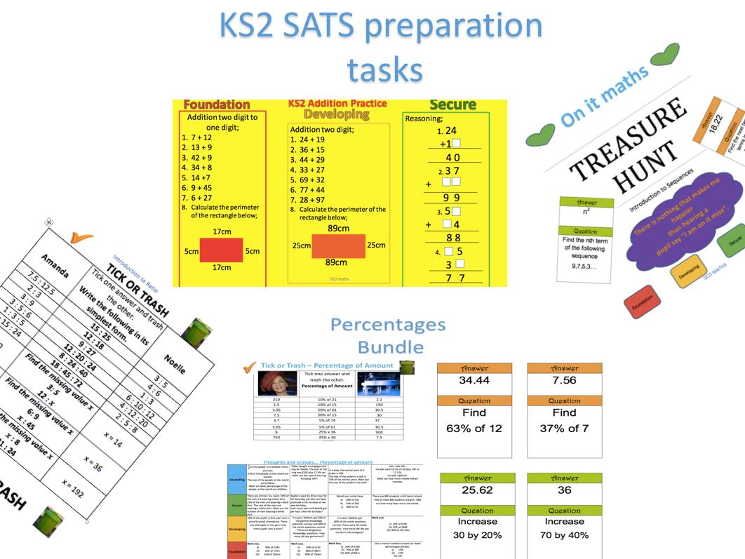 KS2 SATS Tasks