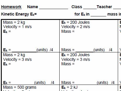 gcse physics internet homework