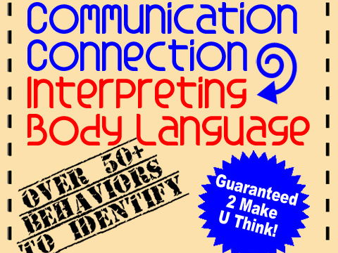 Oral Communication Activity Skills: Interpreting Body Language Using Task Cards